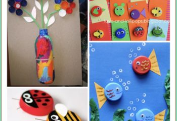 Bottle Lid Creations